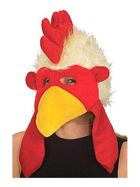 Rooster Hat Plush