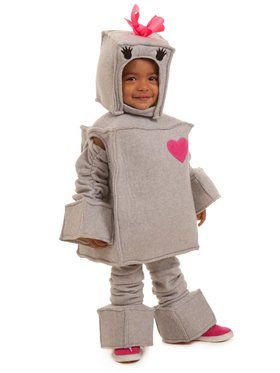 Rosalie the Robot Girl's Costume
