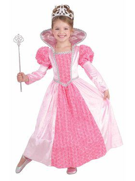 Rose Princess Girls Costume