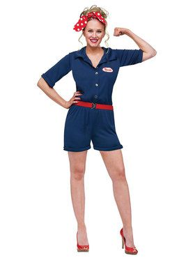 Adult Rosie the Riveter Costume