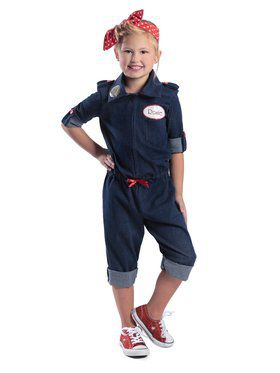 Rosie The Riveter Girls Costume