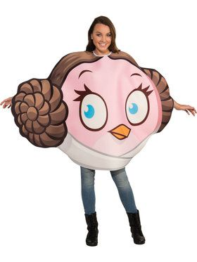Leia Angry Bird Adult Costume