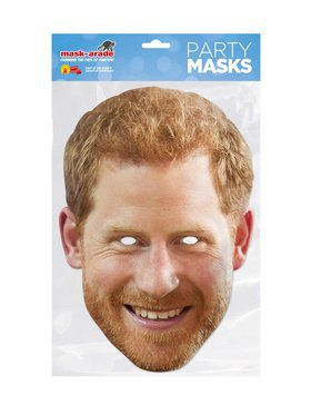 Prince Harry Royal Face Mask