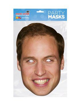 Prince William Royal Face Mask