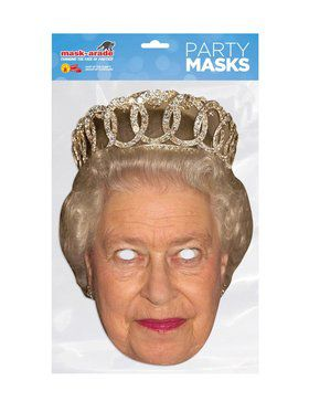 Queen Elizabeth Royal Face Mask