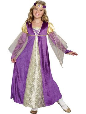 Royal Princess Girl's Costume