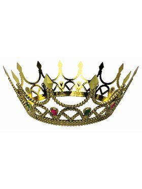 Royal Queen Crown Accessory Gold