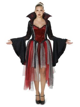 Royal Red Goth Queen Adult Costume