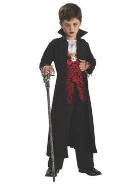 Royal Vampire Costume for Child