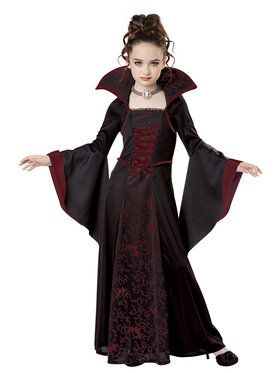 Royal Vampire Girl's Costume