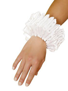 Ruffled Wrist Cuffs Adult