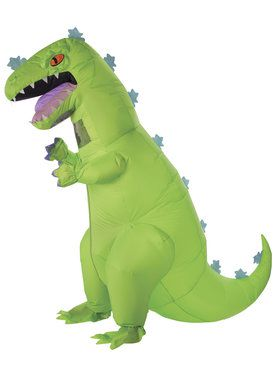 Rugrats Adult Inflatable Reptar Costume
