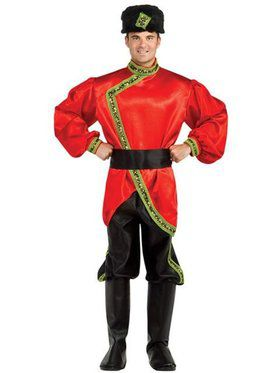 Russian Cossack Costume Mens Regency Collection