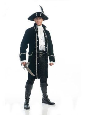 Adult's Ruthless Pirate Costume