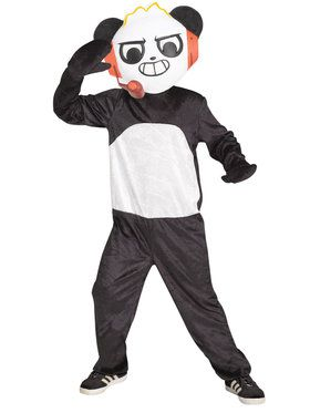 Boys Combo Panda Ryan's World Costume