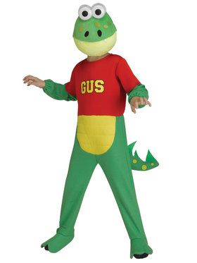 Kid's Ryan's World Gus the Gummy Gator Costume