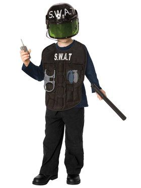 S.W.A.T. Officer Costume Kit For Children