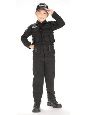 S.W.A.T. Police Costume