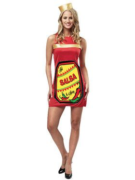 Salsa Dress Costume For Women
