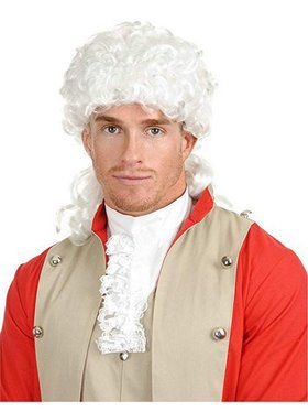 Adult's Samuel Adams Wig