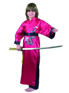 Kid's Samurai Dragon Master Costume