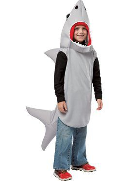 Sand Shark Boy's Costume