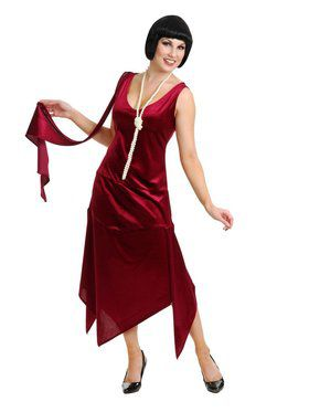 Women's Sandy Speak Easy Flapper Costume