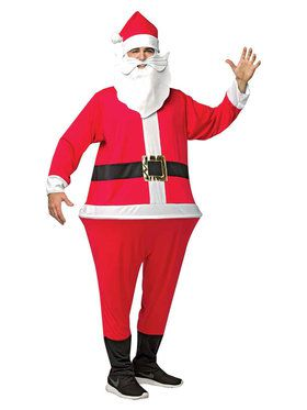 Santa Hoopster Costume For Adults