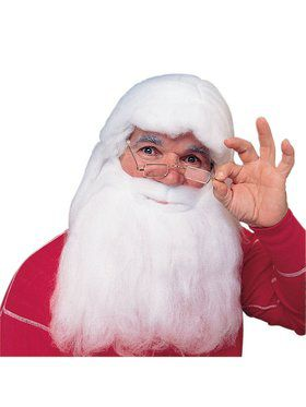 Santa Wig and Beard Costume Set
