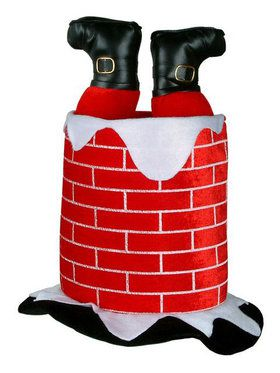 Santa Chimney Hat Adult