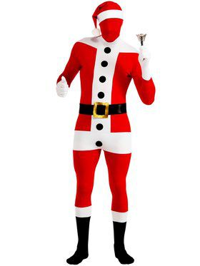 Santa Claus Adult Skin Suit