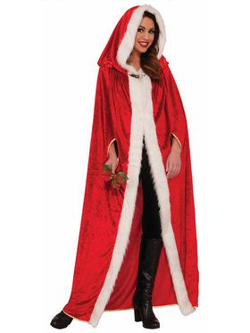 Santa Claus Cape One-Size