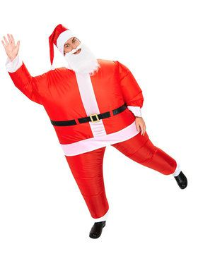 Santa Inflatable Costume For Adults