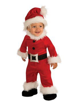 Santa Romper for Toddlers