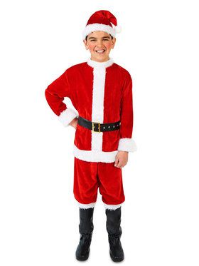 Santa Suit Costume For Children