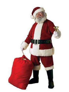Men's Santa Suit Kit