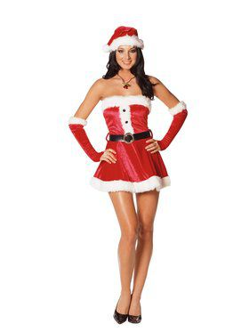 Santas Sweetie Adult Costume