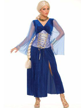 Sapphire Renaissance Dress Adult Costume