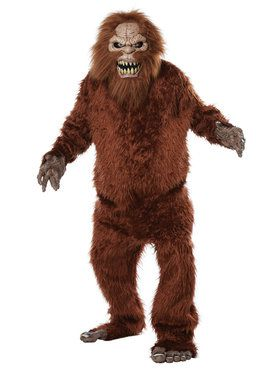 Big Mouth - Sasquatch Costume for Adults