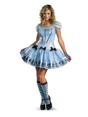 Sassy Blue Disney Alice In Wonderland Movie Costume