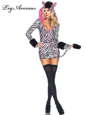 Savanna Zebra Sexy Women's Costume
