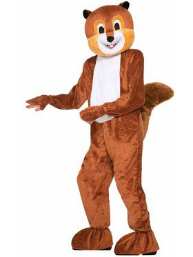 Scamper the Squirrel Mascot Adult Mascot Costume