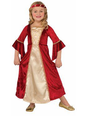 Scarlet Princess Girl's Costume