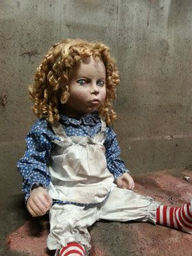 Scary Doll Prop