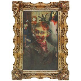 Scary Ghoul Lenticular Portrait
