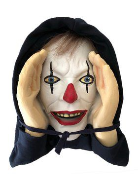 Scary Peeper Giggle Clown Prop