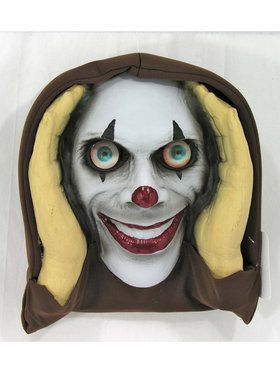 Scary Peeper Lenticular Clown