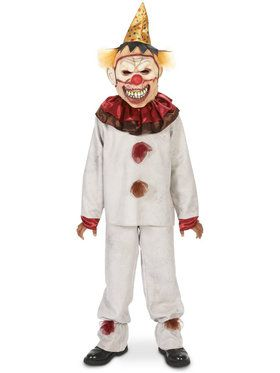 Scary the Carnival Clown Costume For Children