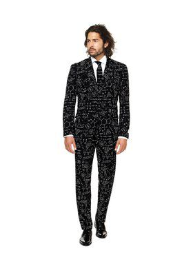 Science Faction Suit Mens Opposuit for Halloween