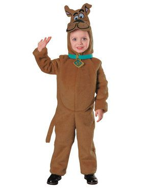 Scooby Doo Toddler Deluxe Plush Costume